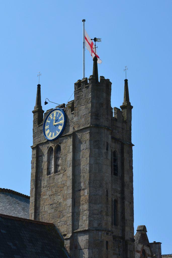 Tower of St James Chapel, Okehampton, Devon